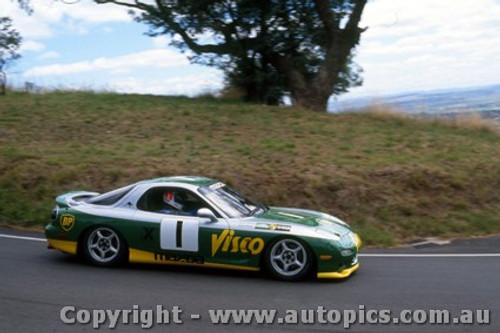 94020 - G. Walden & M. Skaife  Mazda RX7S - Hardie Ferodo 12 Hour Bathurst  1994 - Photographer Lance J Ruting