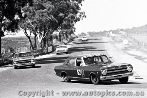 67755  - H. Firth / F. Gibson  -  Bathurst 1967 - 1st Outright & Class D Winner - Ford Falcon XR GT - Photographer Lance J Ruting