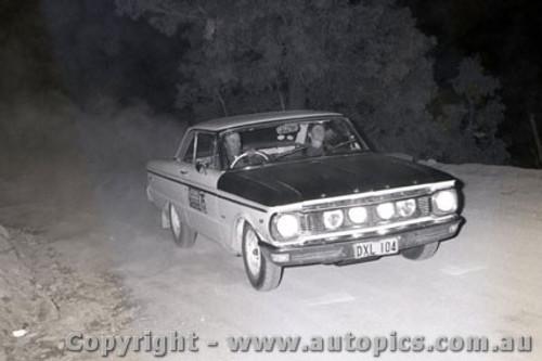 67810 - Ford Falcon - Southern Cross Rally 1967 - Photographer Lance J Ruting