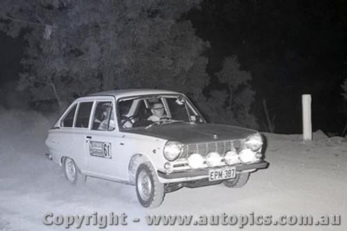 67816 -  Colin Bond - Mitsubishi Colt - Southern Cross Rally 1967 - Photographer Lance J Ruting