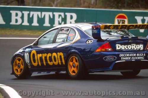 202705 - Mark Larkham / Will Power Falcon AU - Bathurst 2002 - Photographer Craig Clifford