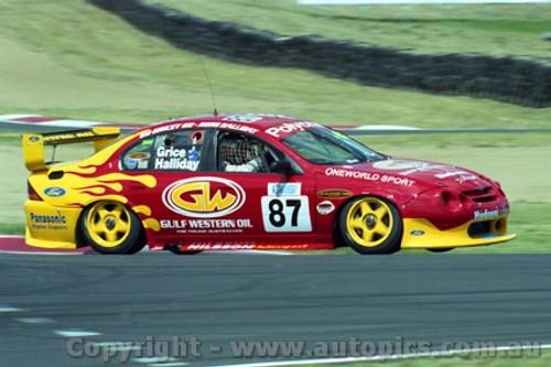 202710 - A. Grice & R. Halliday  Falcon AU - Bathurst 2002 - Photographer Craig Clifford
