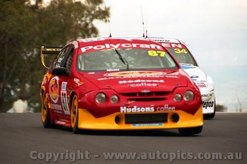 202711 - A. Grice & R. Halliday  Falcon AU - Bathurst 2002 - Photographer Craig Clifford