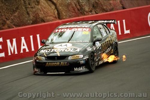 202722 - P. Brock & C. Baird Holden Commodore VX - Bathurst 2002 - Photographer Craig Clifford