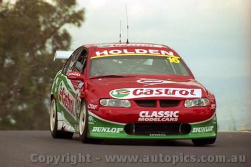 202727 - S. Richards & R. Ingall  Holden Commodore VX - Bathurst 2002 - Photographer Craig Clifford