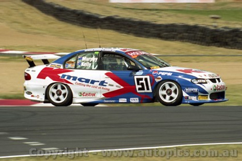 202728 - G. Murphy & T. Kelly  Holden Commodore VX - Bathurst 2002 - Photographer Craig Clifford
