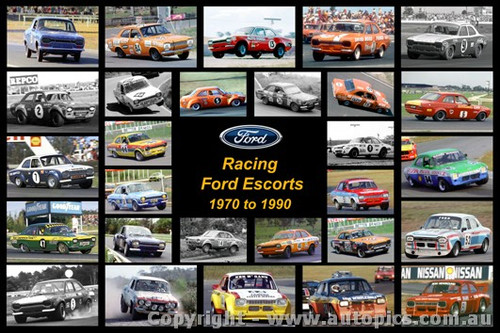 Racing Ford Escort - A collection of 28 photos of MK1 Escorts from 1970 to 1990