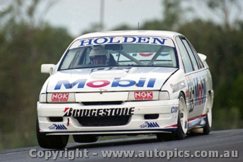 92032 - Peter Brock  Holden Commodore VP - Lakeside 1992 - Photographer Marshall Cass