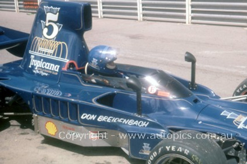 78635 - Don Breidenbach, Lola T332 F5000 - Adelaide  1978  - Photographer Peter Green