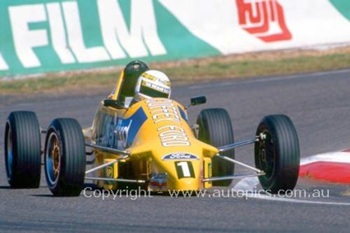 89513 - Mark Larkham, Van Dieman Formula Ford - Bathurst 1989 - Photographer Ray Simpson