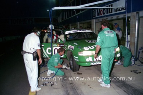 91024 - Brock / Crompton / McKay Holden Commodore VN SS V6 - 4th place  Bathurst 12 Hour March 1991 -  Protographer Darren House