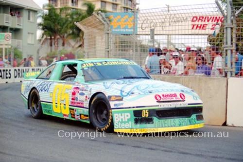 94030 - Peter Brock, NASCAR - Indy 1994 - Photographer Marshall Cass
