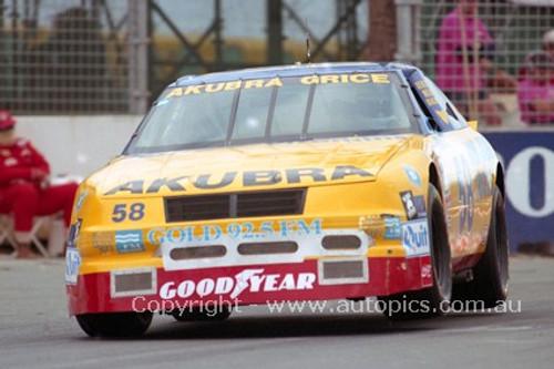 94034 - Allan Grice, NASCAR - Indy 1994 - Photographer Marshall Cass