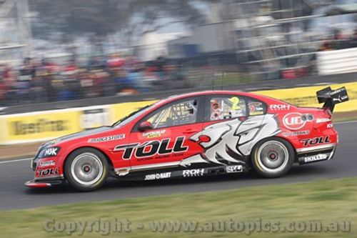 11702 - Garth Tander & Nick Percat - Holden Commodore VE -  Winner of the 2011 Bathurst 1000  - Photographer Craig Clifford
