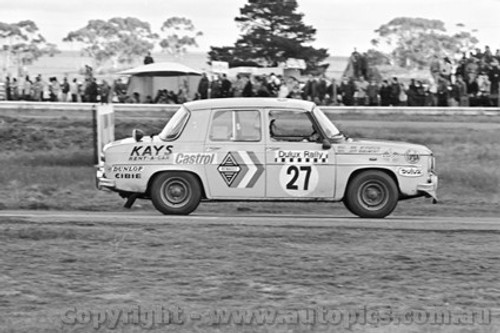 71249 - Mal McPherson / Jeff Beaumont, Renault Gordini - Dulux Rally - Calder 15th August 1971 - Photographer Peter D'Abbs