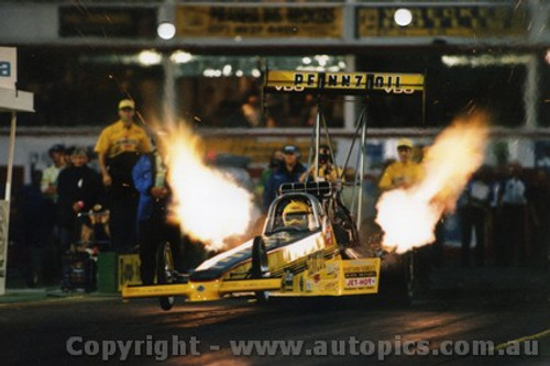 99223 - Robyn Kirby - Australian Top Fuel Champion 1999 - Photographer Marshall Cass
