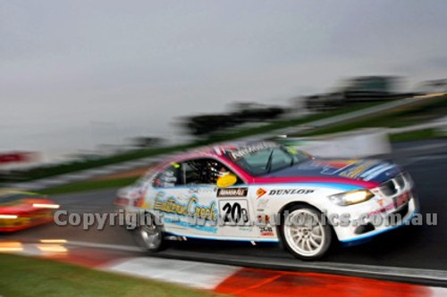 10013 - Garry Holt, Paul Morris & John Bowe, BMW 335i - Winner Bathurst 12 Hour 2010 - Photographer Marshall Cass