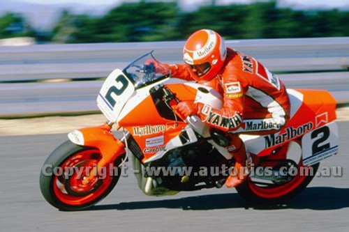 86301 - Kevin Magee, Yamaha - Photographer Ray Simpson