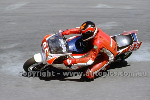 88307  - Robert Phillis, Kawasaki - Superbikes Symmons Plains 1988 - Photographer Ray Simpson