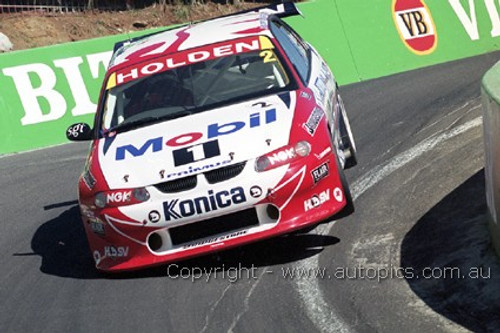 99725 - Mark Skaife / Paul Morris - Holden VT Commodore - 3rd Outright Bathurst FAI 1000 1999 - Photographer Marshall Cass