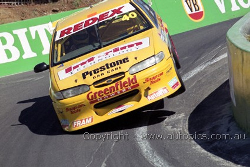 99726 - C. McLean // J. Creland, Forf Falcon EL - 3rd Outright Bathurst FAI 1000 1999 - Photographer Marshall Cass