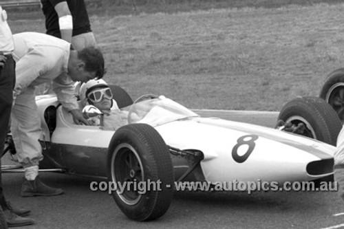 64550 - Bob Jane, Elfin Ford -  Warwick Farm 1964 - Photographer Lance J Ruting