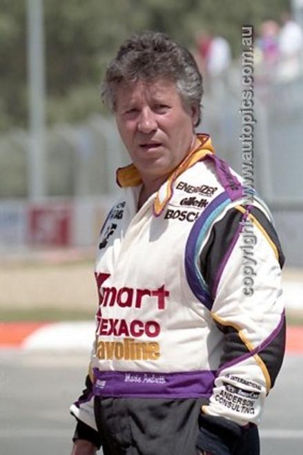 92511 - Mario Andretti, Lola T91/100 Ford Cosworth - Gold Coast Indy 1992 - Photographer Marshall Cass