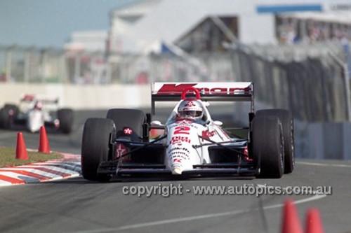 92512 - Mario Andretti, Lola T91/100 Ford Cosworth - Gold Coast Indy 1992 - Photographer Marshall Cass