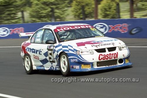 01735 - N. Petty & R. Kelly, Holden Commodore VX - Bathurst 2001 - Photographer  Marshall Cass