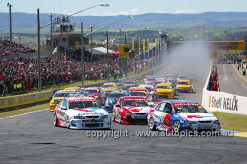 203700 - Start of the Bathurst 1000 - 2003 - Photographer Marshall Cass
