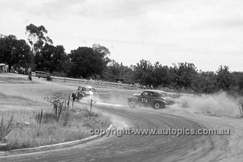 620031 -  R. Stratton, Holden FX - Hume Weir 26th December 1962 - Photographer Bruce Wells.