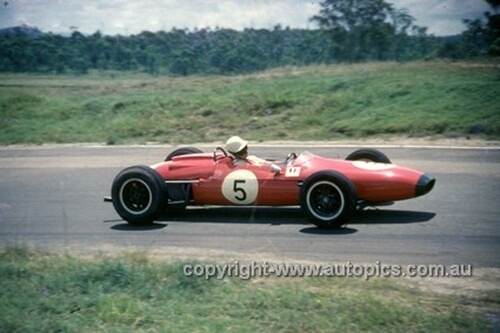 630041 - David McKay, Brabham - Lakeside International 1963 - Photographer Bruce Wells.