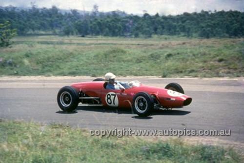 630043 - Frank Matich, Elfin - Lakeside International 1963 - Photographer Bruce Wells.
