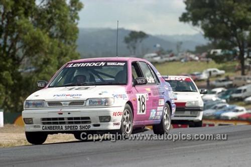 94044 - Murray Carter - Nissan Pulsar - Lakeside 24 th April 1994 - Photographer Marshall Cass