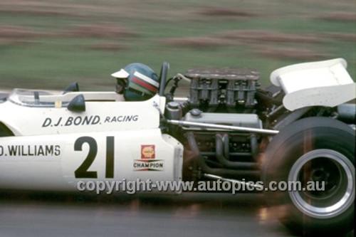 Derrick Williams, Lola T142 Chev - Warwick Farm 1970 - Photographer Russell Thorncraft