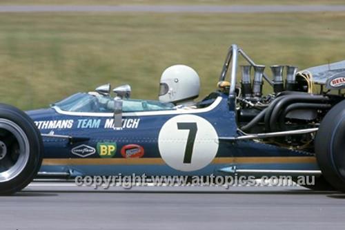 Frank Matich, McLaren M10B Chev - Warwick Farm 1970 - Photographer Russell Thorncraft