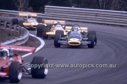 N. Allan, McLaren M10B, K. Bartlett, Midren Chev-Bartz & M. Stewart, Mildren Waggott - Warwick Farm 1970 - Photographer Russell Thorncraft