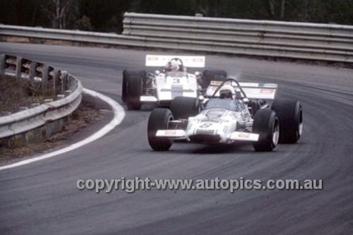 K. Holland, McLaren M10B & D. Walker, Lotus 70 - Warwick Farm 1970 - Photographer Russell Thorncraft