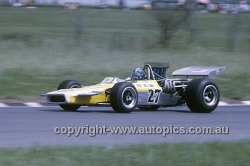 Richie Galloway, Lola T190 Chev - Warwick Farm 1971 - Photographer Russell Thorncraft