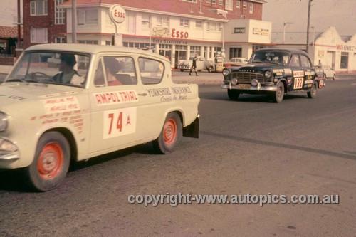 64974 - 1964 Ampol Trial - Anglia & Holden FC - Photographer Ian Thorn