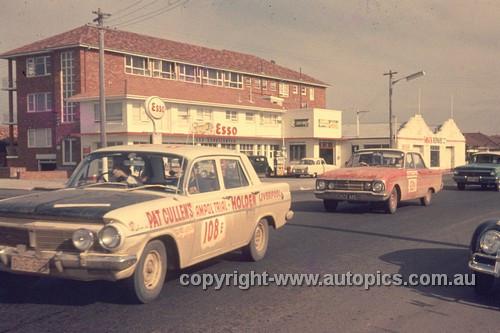 64976 - 1964 Ampol Trial - Holden EH & Falcon - Photographer Ian Thorn