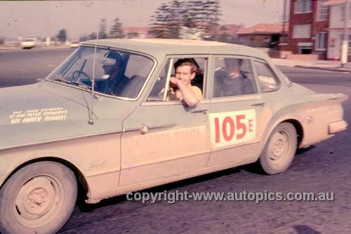 64979 - 1964 Ampol Trial - John Steward, Valiant - Photographer Ian Thorn