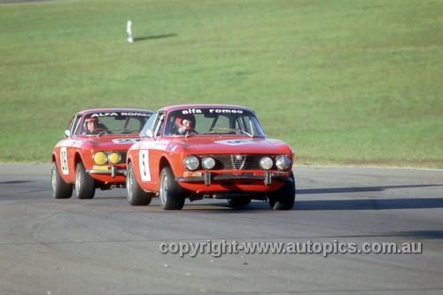 75062 - Christine Gibson & John French, Alf Romeo - ATCC Oran Park 1975