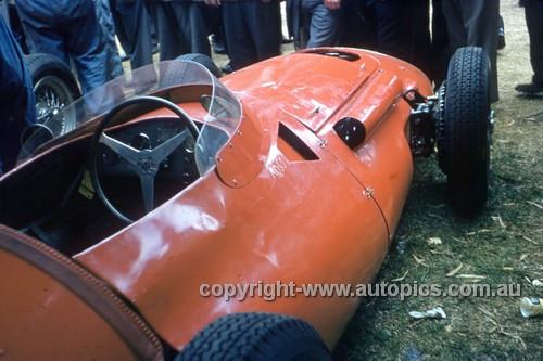 56512 - Stirling Moss, Maserati 250F - Australian Grand Prix  Albert Park 1956 -  Photographer Simon Brady