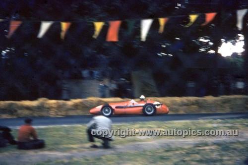 56516 - Jean Behra, Maserati 250F - Australian Grand Prix  Albert Park 1956 -  Photographer Simon Brady