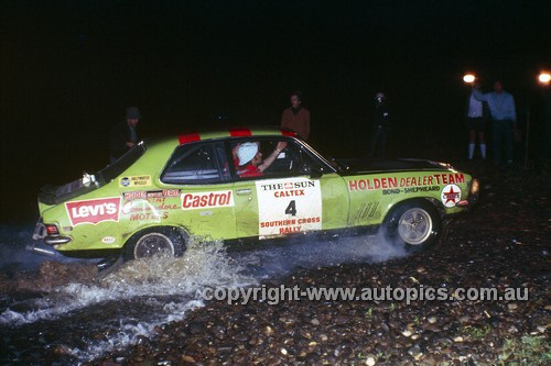 71300a - Colin Bond &  George Shepherd Torana XU1 - Southern Cross Rally 1971