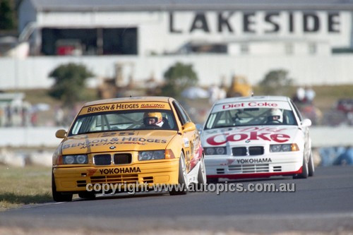 94049 - Tony Longhurst & Paul Morris, BMW - Lakeside 1994 - Photographer Marshall Cass
