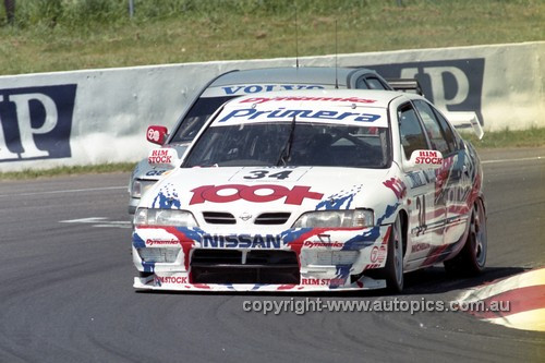 98831 - Steven Richards / Matthew Neal, Nissan Primera - AMP 1000 Bathurst 1998 - Photographer Marshall Cass