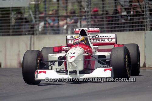 95520 - Mark Blundell, McLaren-Mercedes - Australian Grand Prix - Adelaide 1995 - Photographer Marshall Cass