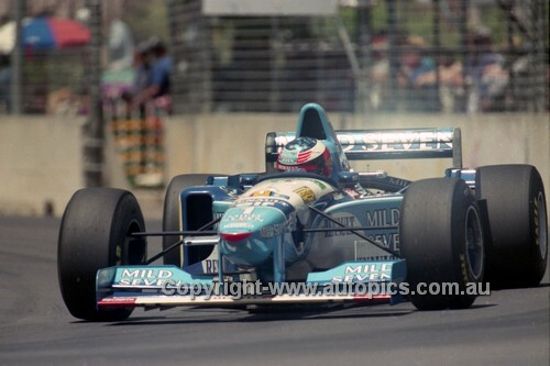 95518 - Michael Schumacher, Benetton-Renault - Australian Grand Prix - Adelaide 1995 - Photographer Marshall Cass